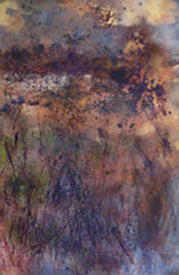 Still Morning, monoprint, Daniel E. Smith artist (image courtesy of the artist)