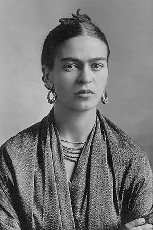 Frida Kahlo, photographed by Guillermo Kahlo