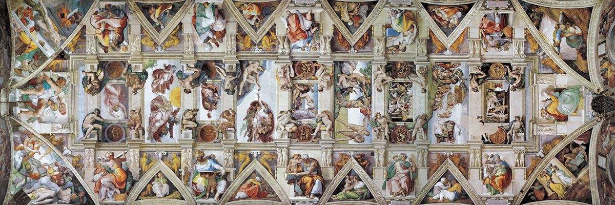 Ssistine Chapel ceiling, Rome