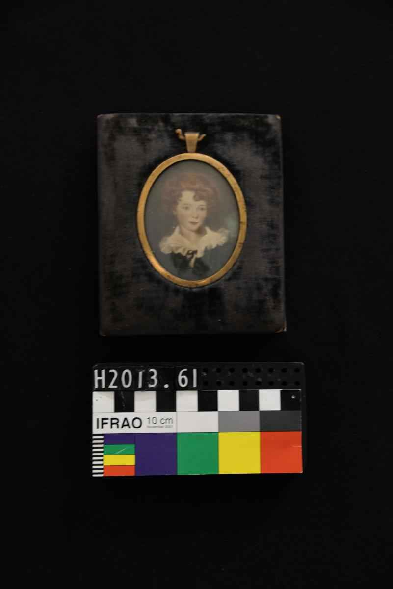 Miniature of William Carmalt Clifton, now in family collection at Western Australian Museum (Image courtesy of Western Australian Museum)