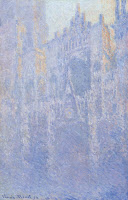 Rouen Cathedral Facade (Morning Effect),  1892-94, Claude Monet (Image courtesy of Museum Folkwang, Essen, Germany.