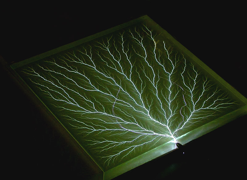 "12"" block - Captured Lightning scupture (Image courtesy of Theodore Gray)"