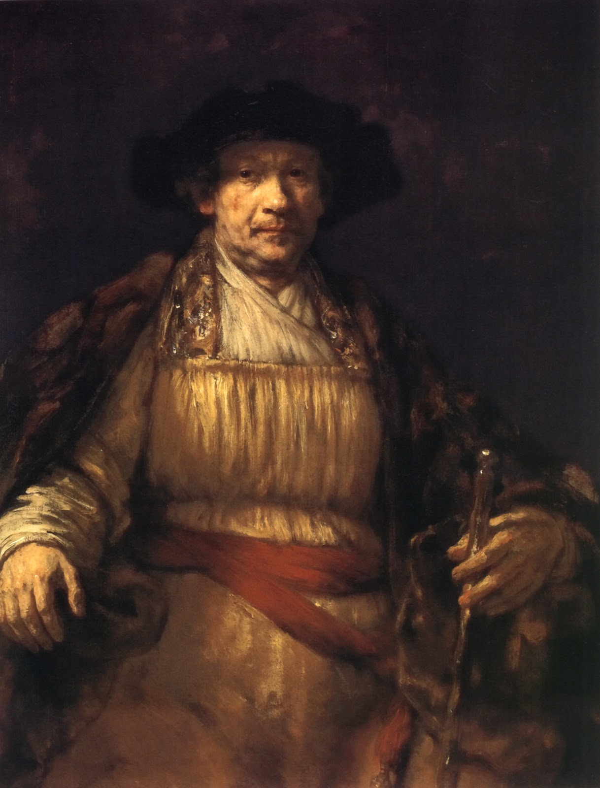 Rembrandt Self-Portrait, 1658 (Image courtesy of Frick Collection. New York.)