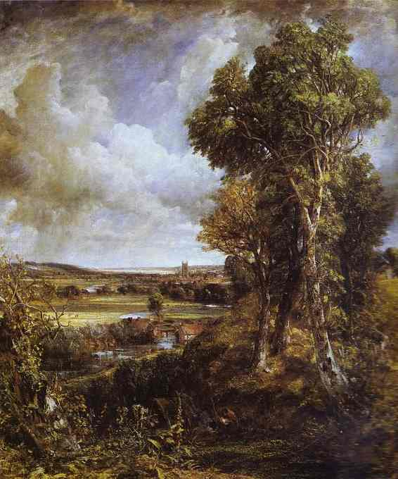 Dedham Vale with Ploughman, 1814, John Constable, (Image courtesy of Scottish National Gallery)