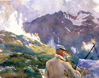 Artist in the Simplon, c.1909 - John Singer Sargent (Image courtesy of Fogg Museum (Harvard Art Museums), Cambridge, MA, US