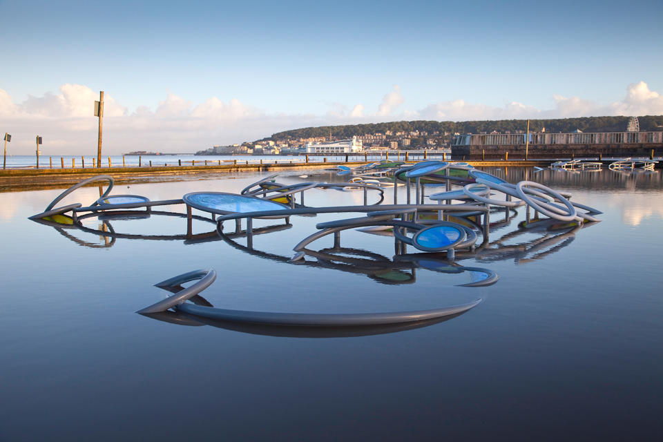 Wonders of Weston, Weston-Super-Mare. (Image courtesy of artist at http://www.ruthclaxton.)