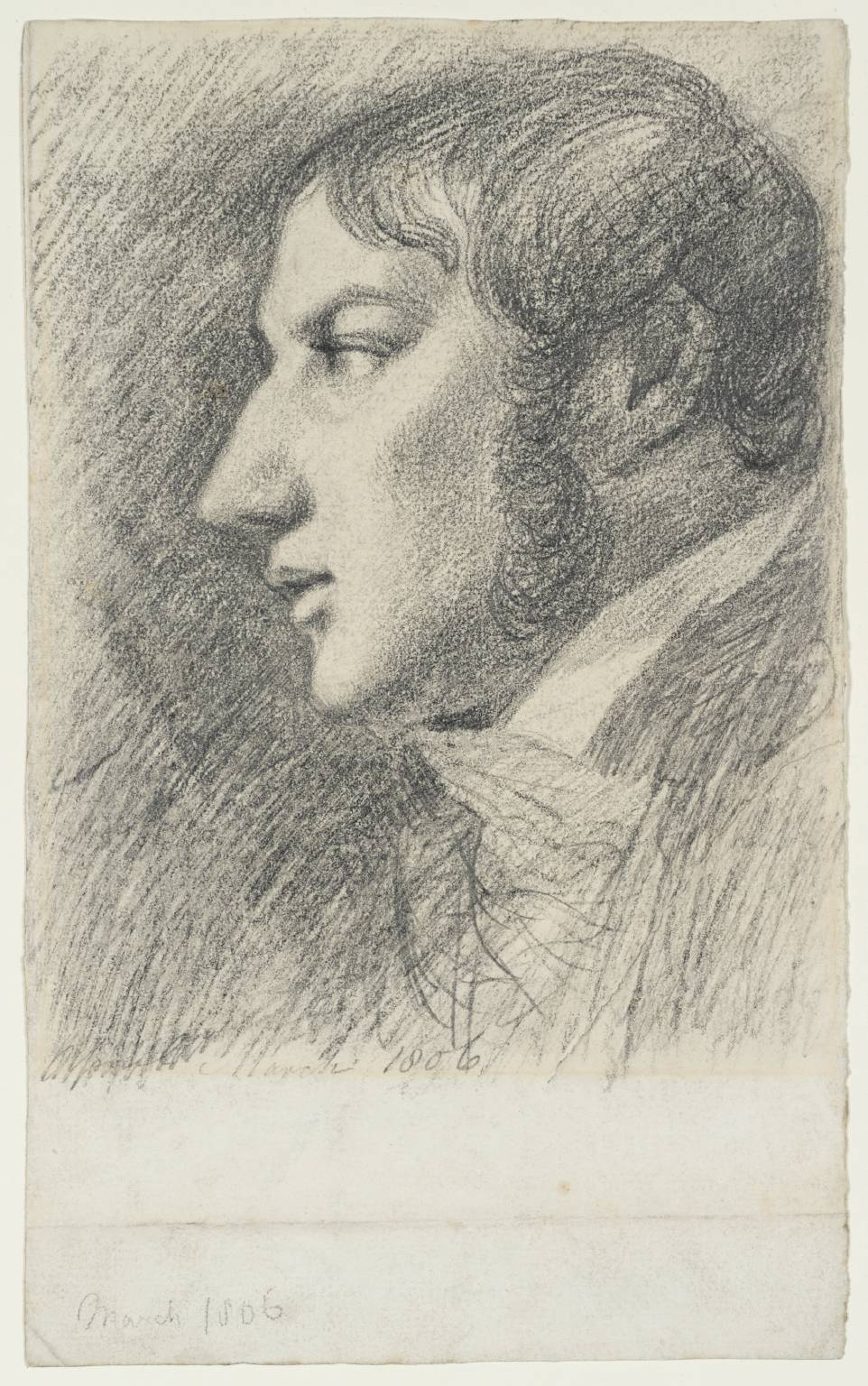 Self-Portrait, 1806, John Constable, (Image courtesy of the Tate, London)