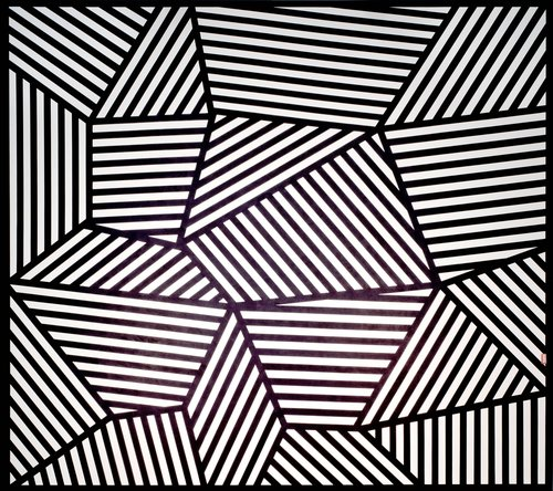 Sol LeWitt ,  Wall Drawing 565 , June 1988 (Image courtesy of SFMOMA)