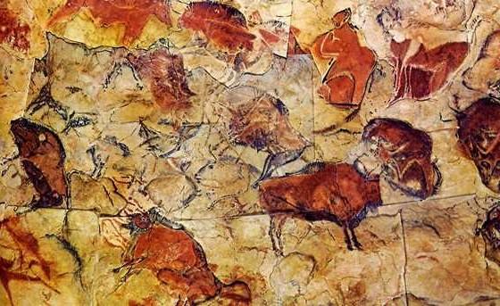 Rupestrian Art, Altamira Caves, Spain