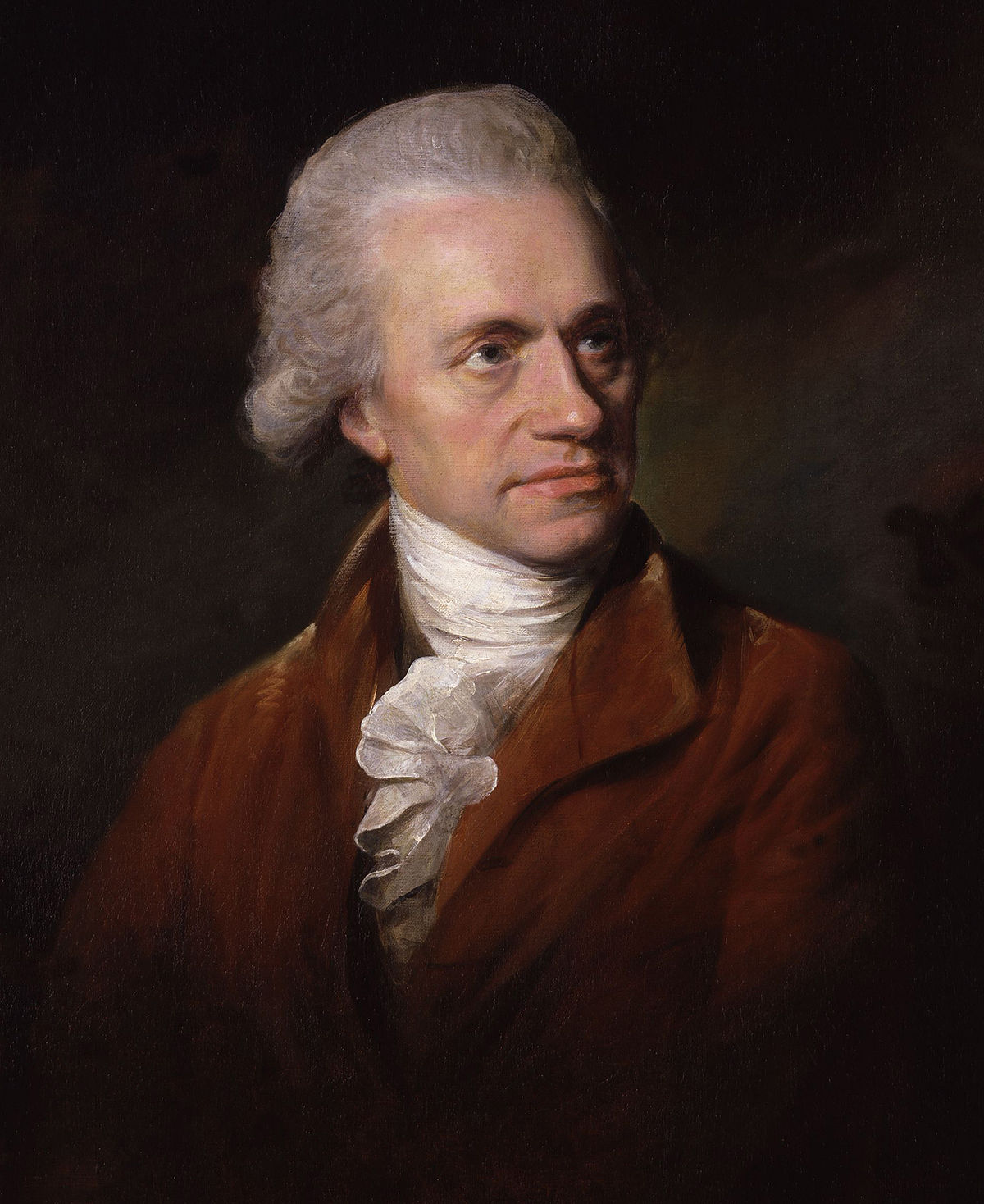 William Herschel, 1785, oil,   Lemuel Francis Abbott   (Image courtesy of  National Portrait Gallery )