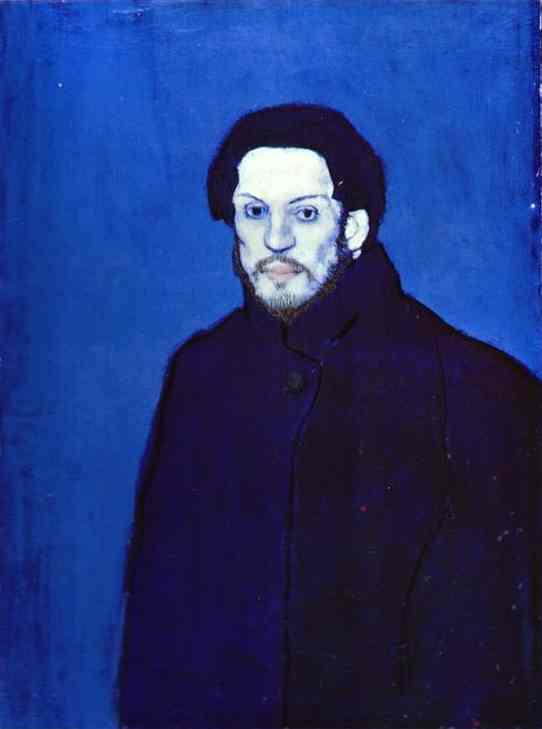 Pablo Picasso, Self-portrait, 1901, (Image courtesy of Musée Picasso, Paris)