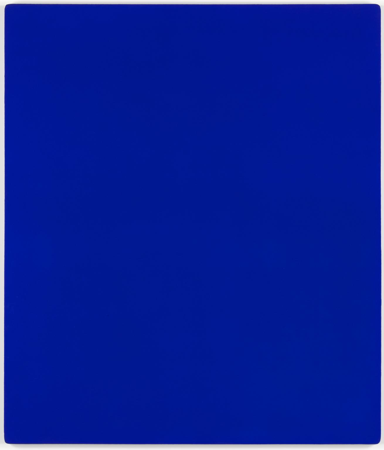 IKB 79. 1959, Yves Klein, (Image courtesy of the Tate)