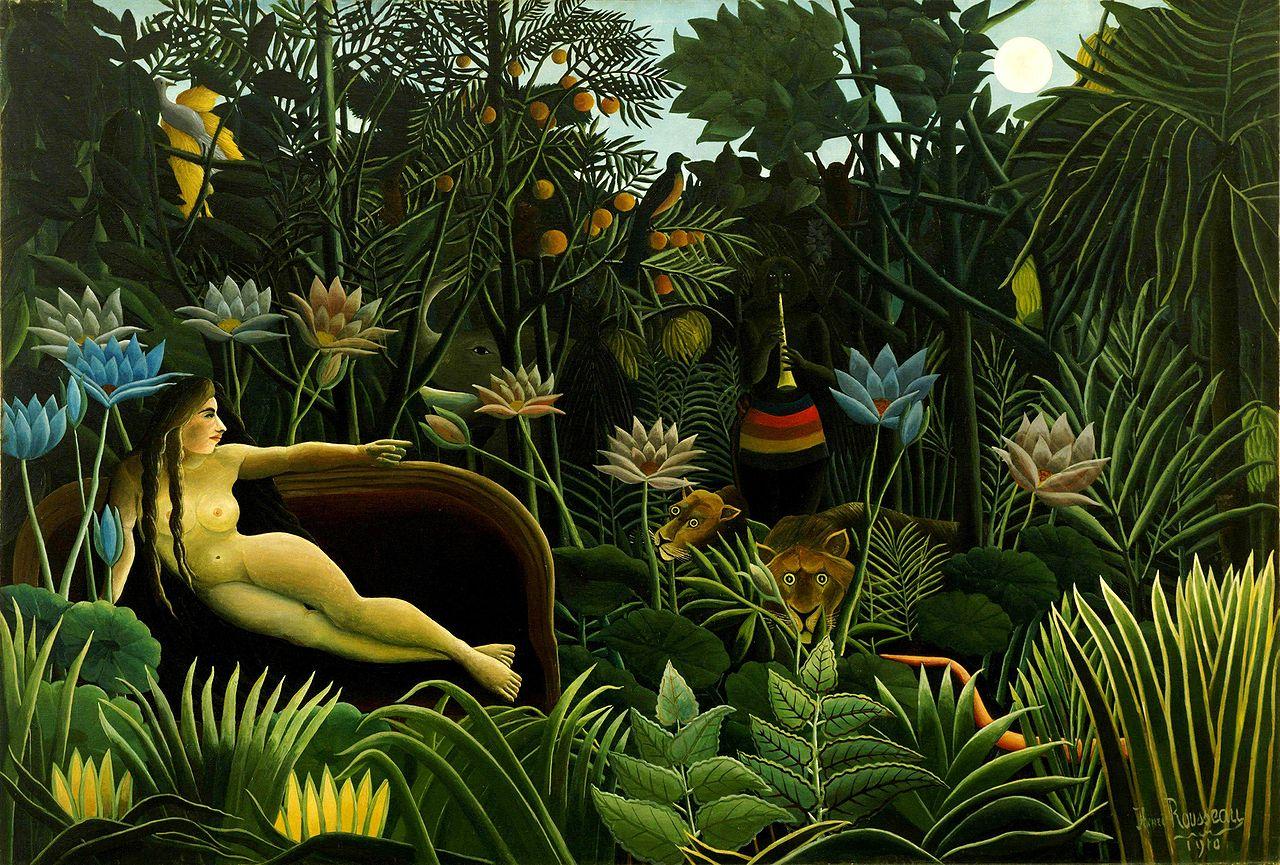 The Dream, Henri Douanier Rousseau, 1910 (Image courtesy of MOMA)