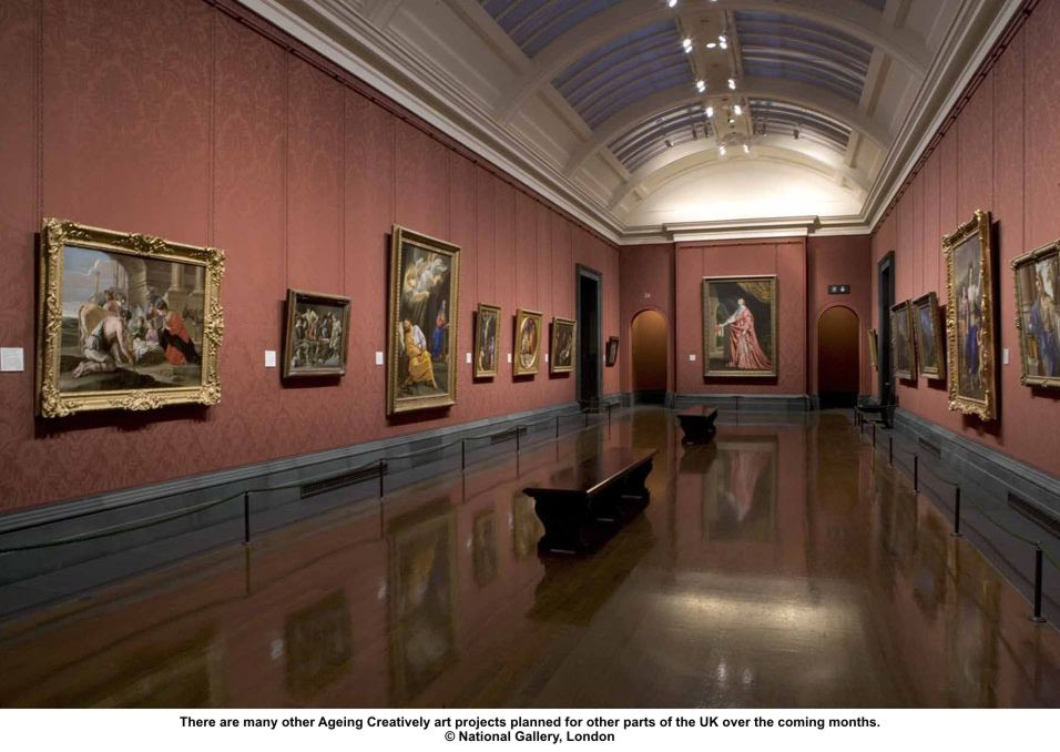 National Gallery Innovative Art Project For Stroke Suvivors to Restore Creativity