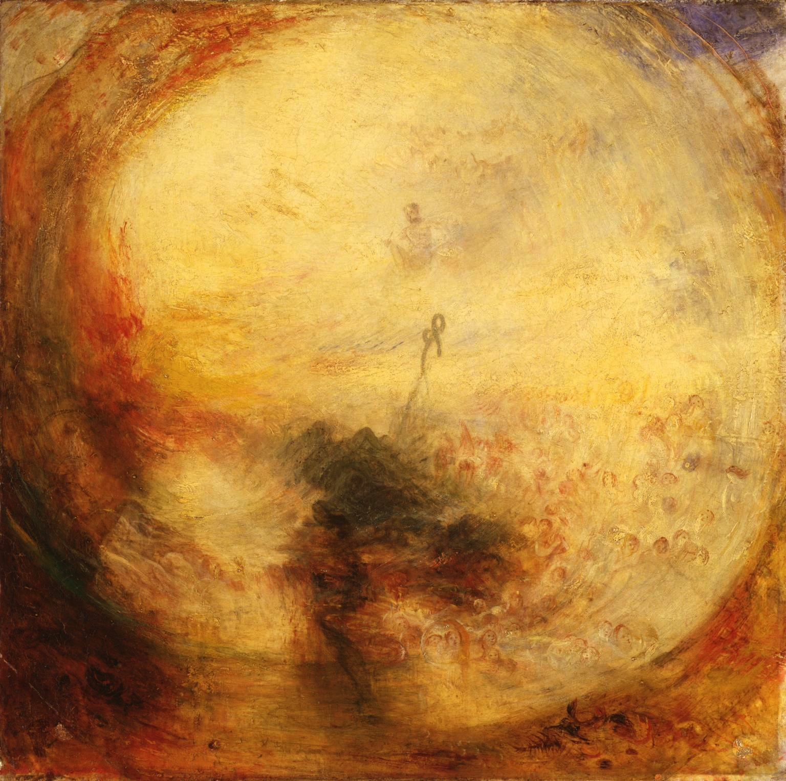 Light and Colour, Goethes-Theory, The Morning After The Deluge, 1843, J.M.W. Turner (Image courtesy of the Art Gallery of Ontario)