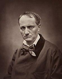 Étienne Carjat, Portrait of Charles Baudelaire, circa 1862.