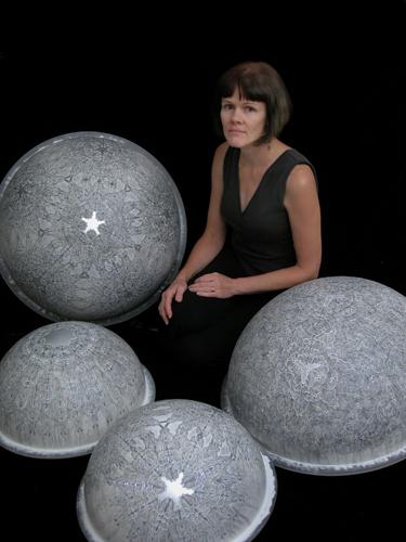 Carol Prusa in her Studio