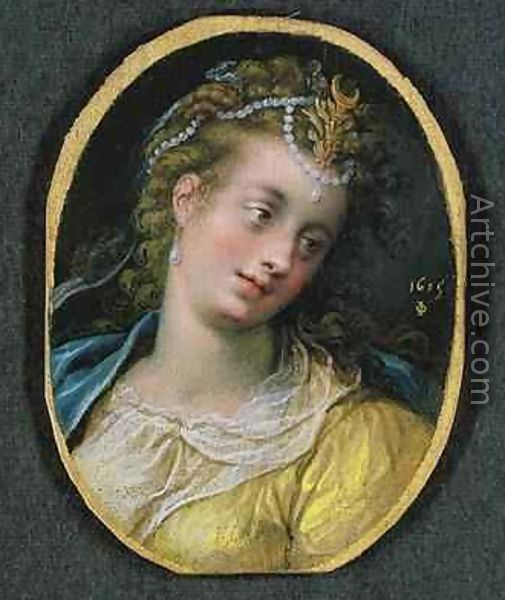 Diana 1615 - Isaac Oliver