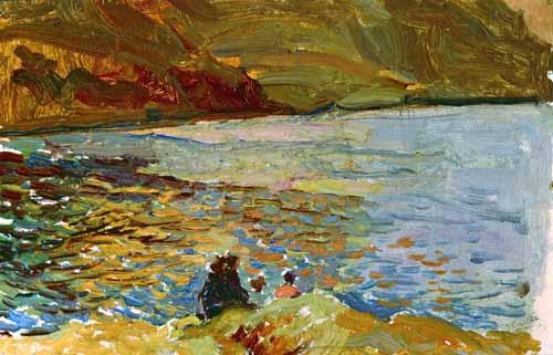 """""""El mar en Mallorca"""" , Joaquin Sorolla"""