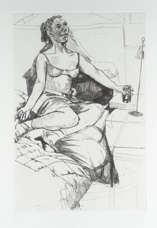 Pomagne, Paula Rego., 1996 (Image courtesy of the Tate)