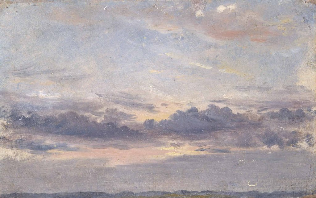 """A Cloud Study,"" by the 19th-century painter John Constable. Credit Yale Center for British Art, Paul Mellon Collection"