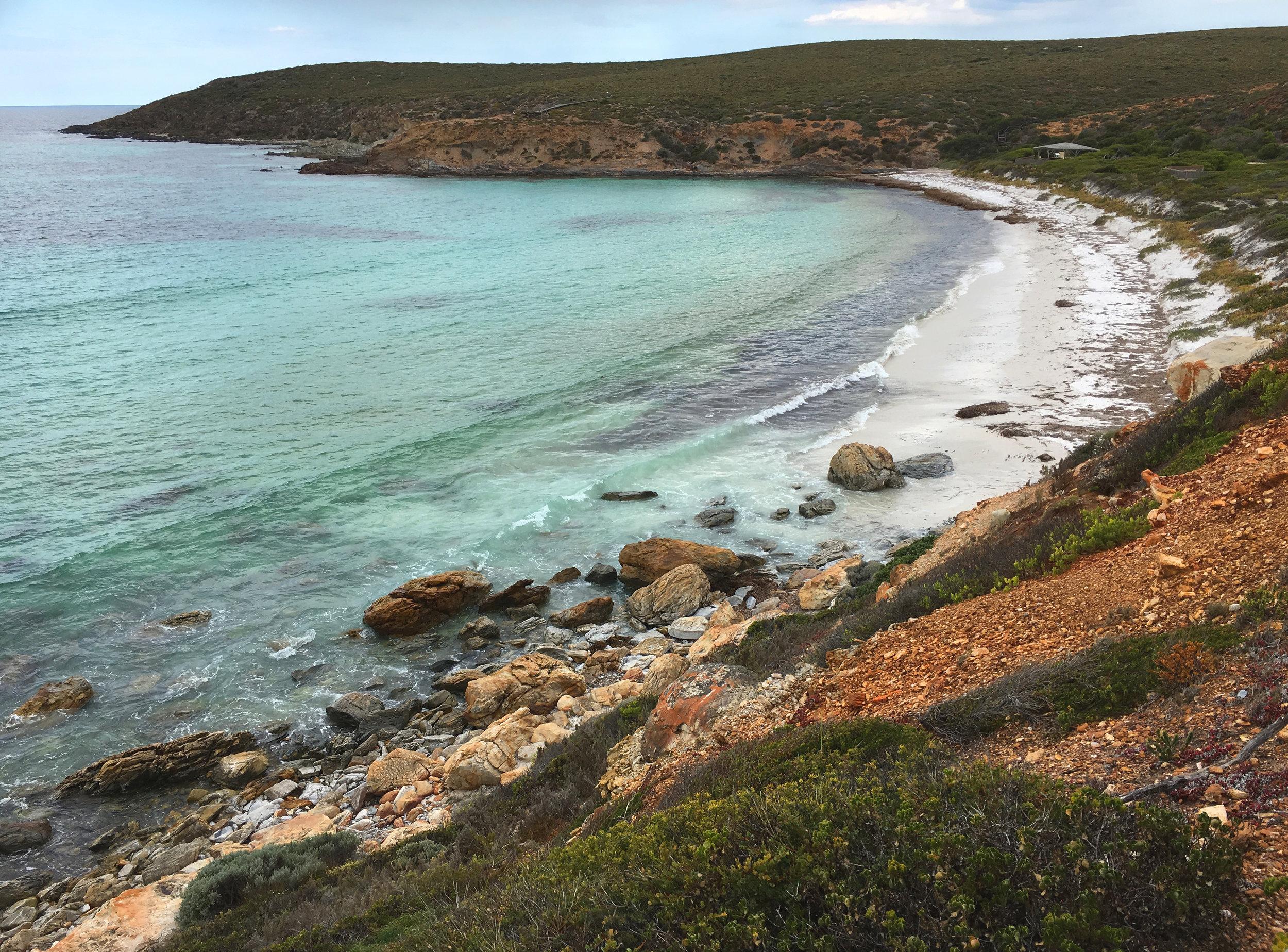 Fitzgerald River National Park, beach facing the Southern Ocean, Western Australia (photograph J. Cook)