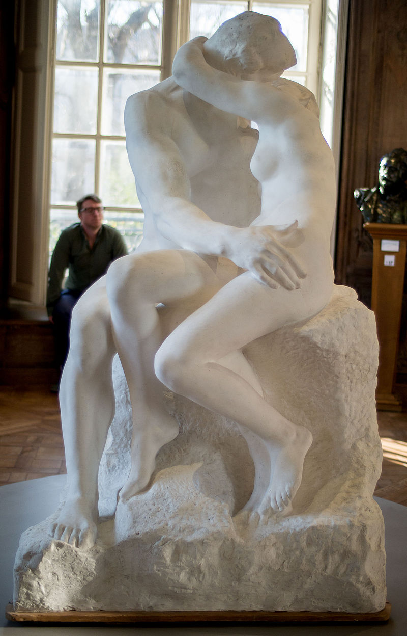 Le Baiser, marble, 1889, Auguste Rodin (Image courtesy of the Musée Rodin, Paris)