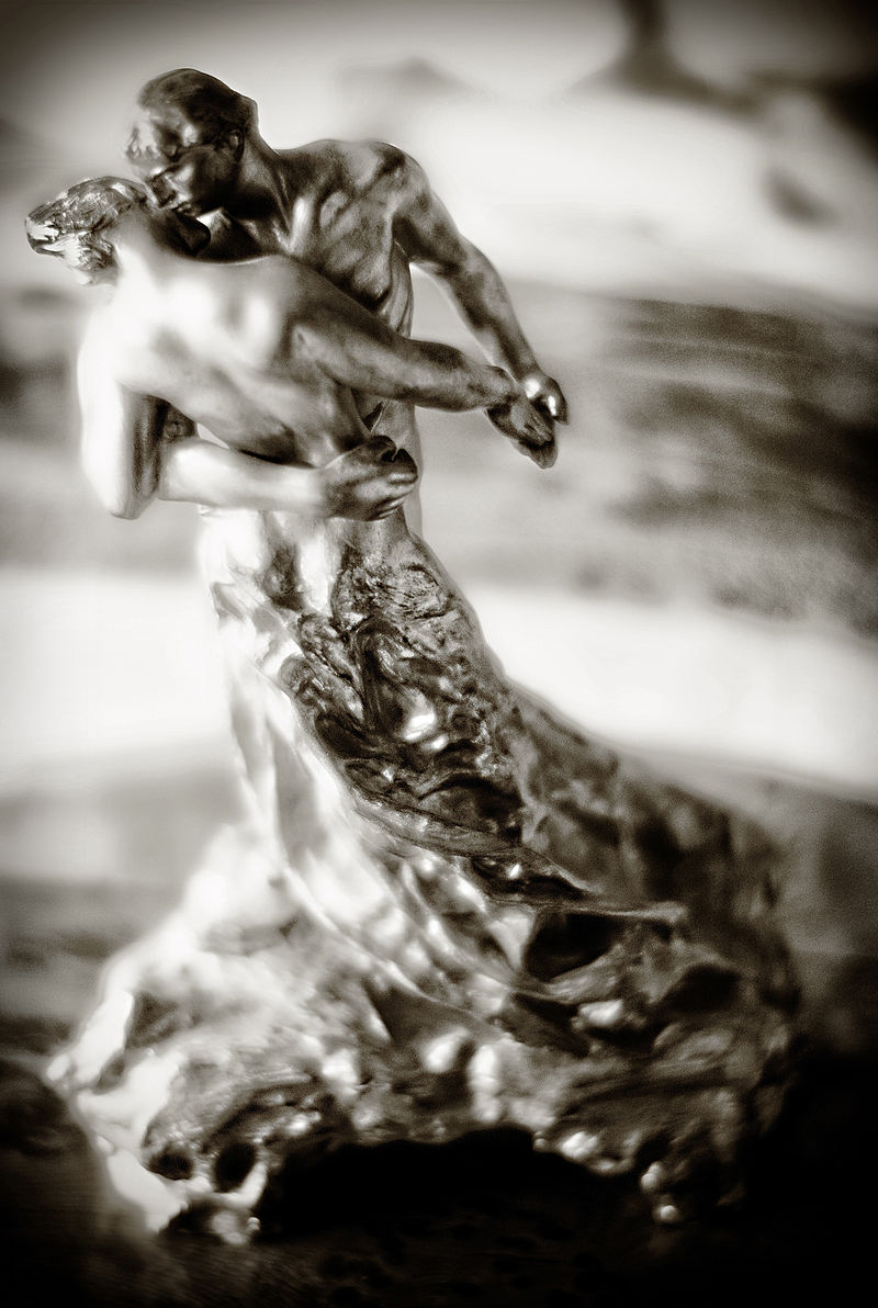 La Valse (1905), Camille Claudel,  bronze, (Image courtesy of the Musée Rodin, Paris)
