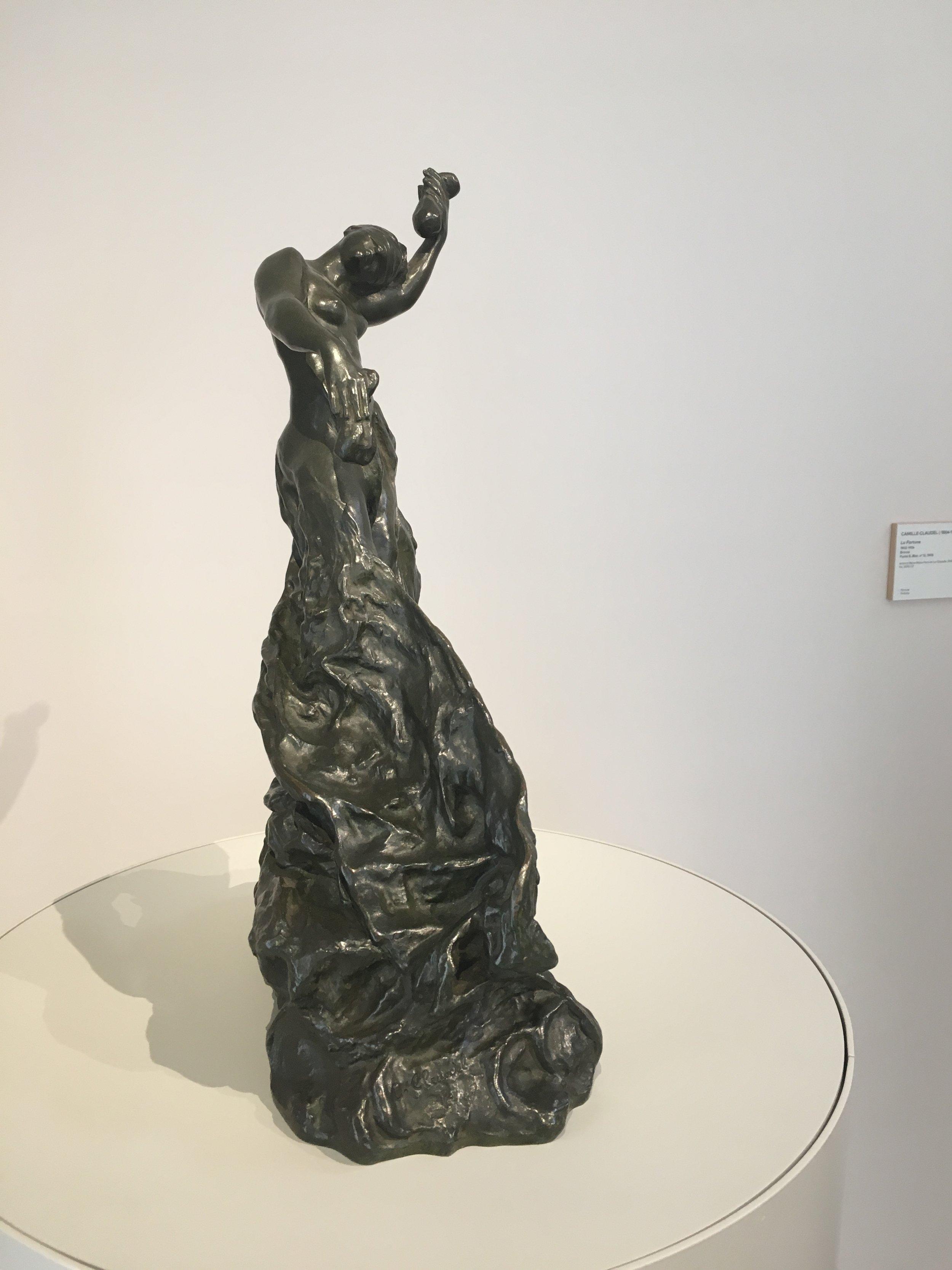 La Fortune, 1904-05, bronze, Camille Claudel, Musée Camille Claudel, Nogent sur Seine (photograph J. Cook)