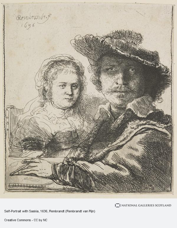 Self-Portrait with Saskia 1636 etching on paper National Galleries of Scotland.jpg
