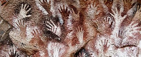 Cuevas de las Manos, Argentina, (courtesy of the Bradshaw Foundation)