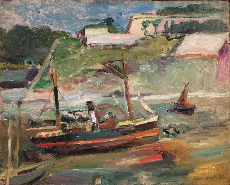 The Palace, Belle Île, ca. 1896-97, oil on canvas, Henri Matisse (Image courtesy of The Dixon Gallery and Gardens)