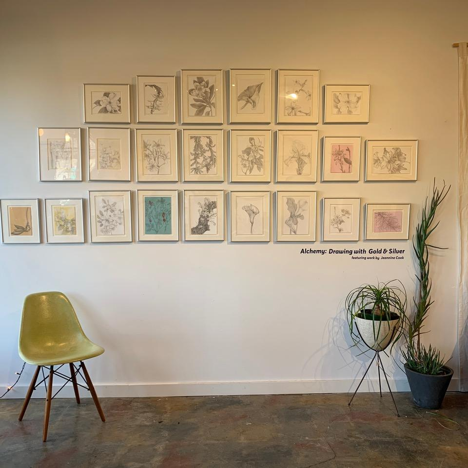 Alchemy: Drawing with Silver and Gold, at Celery Space, San Pablo Street, Berkeley