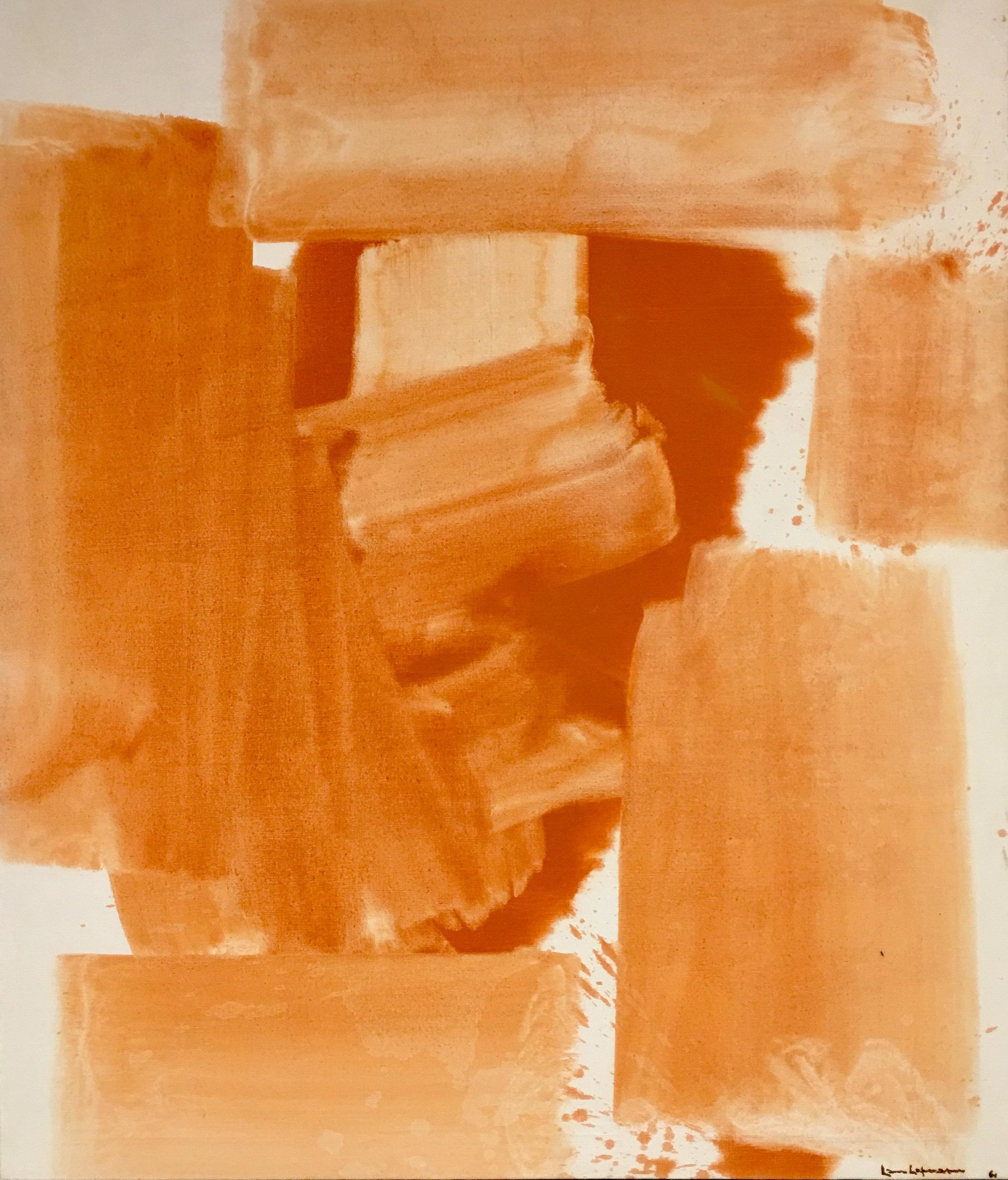Agrigento, oil on canvas, 1961, Hans Hoffman, (photograph J. Cook)