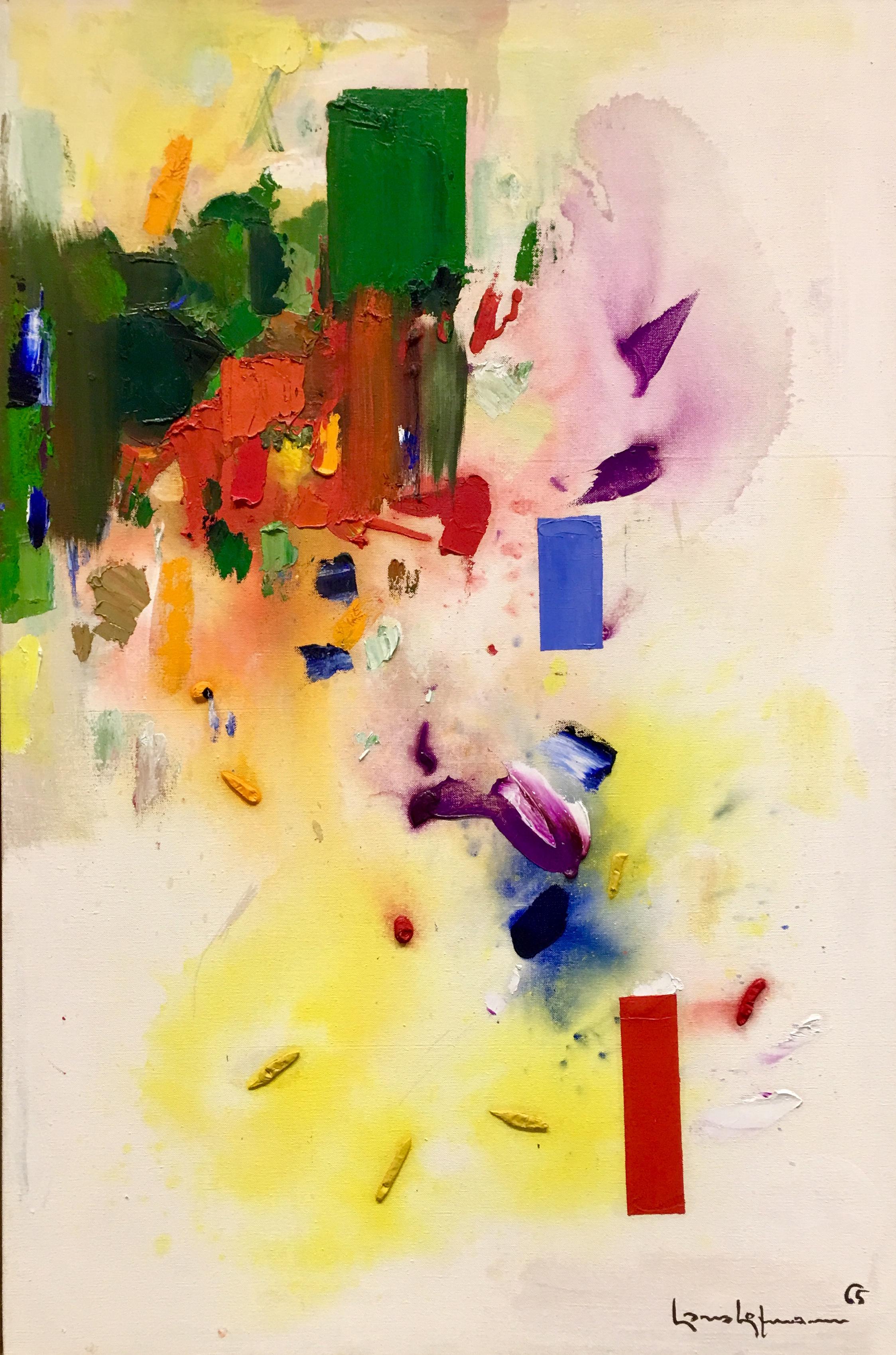 The Castle, oil on canvas, 1965, Hans Hoffman, (photograph J. Cook)