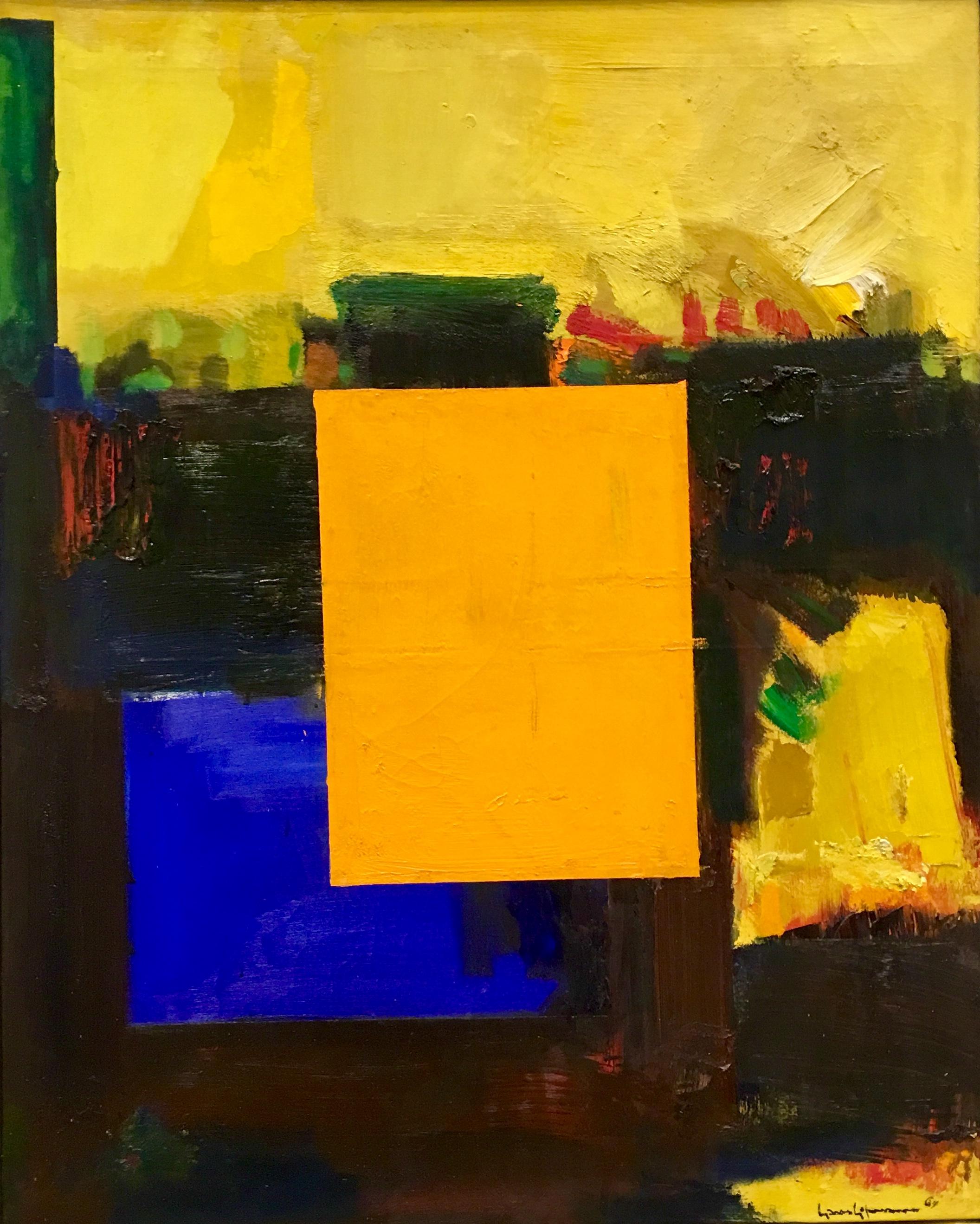Ora Pro Nobis (Pray for Us), oil on canvas, 1964, Hans Hoffman, (photograph J. Cook)