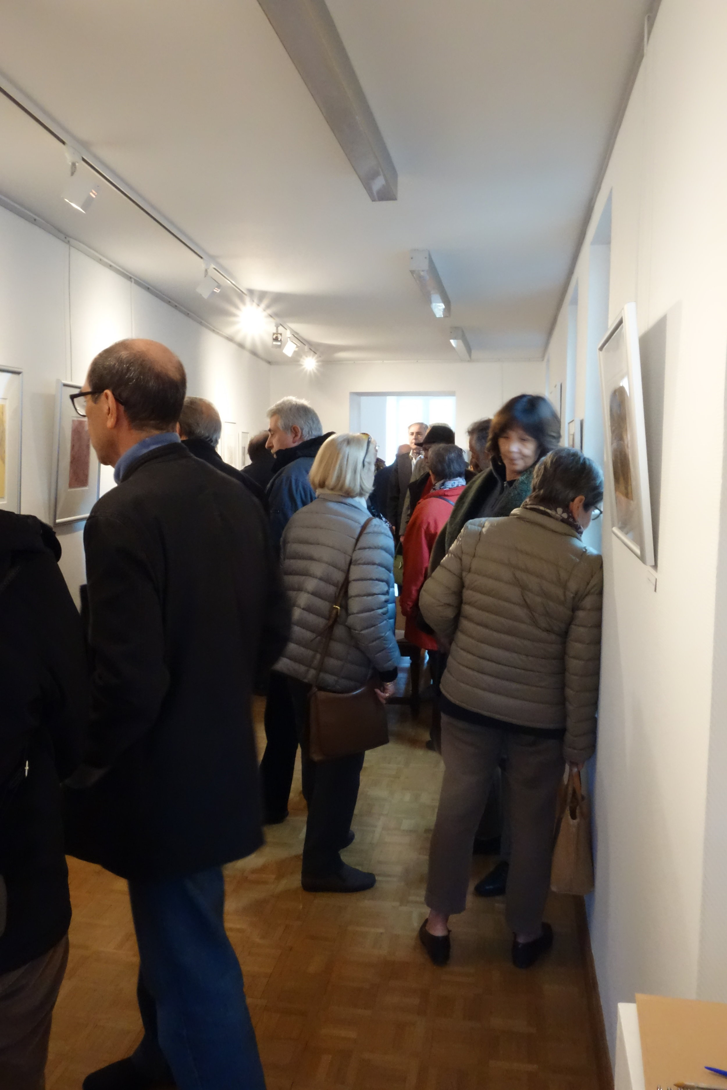 Another moment during the viewing (Photograph courtesy of Michelle Anderson)