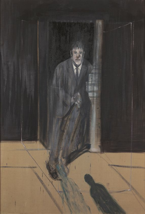 Portrait of Lucien Freud, oil on canvas, 1951, Francis Bacon, Whitworth Art Gallery, Manchester University, Manchester