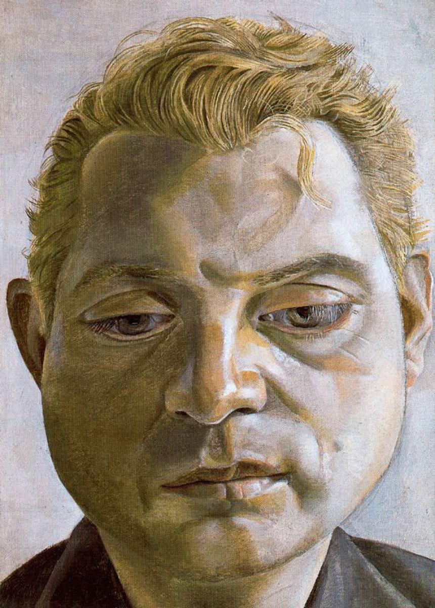 Francis Bacon, oil on canvas, 1952, Lucien Freud, Tate London (stolen 1988)