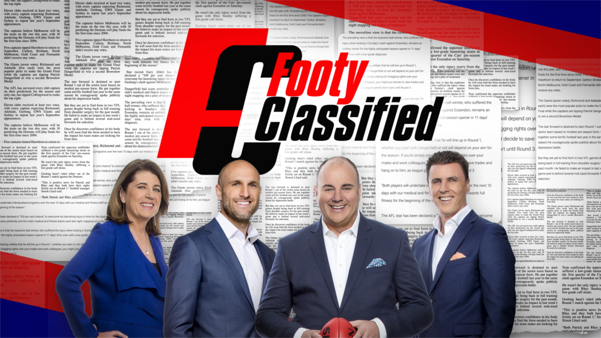 Footy Classified Opening Titles