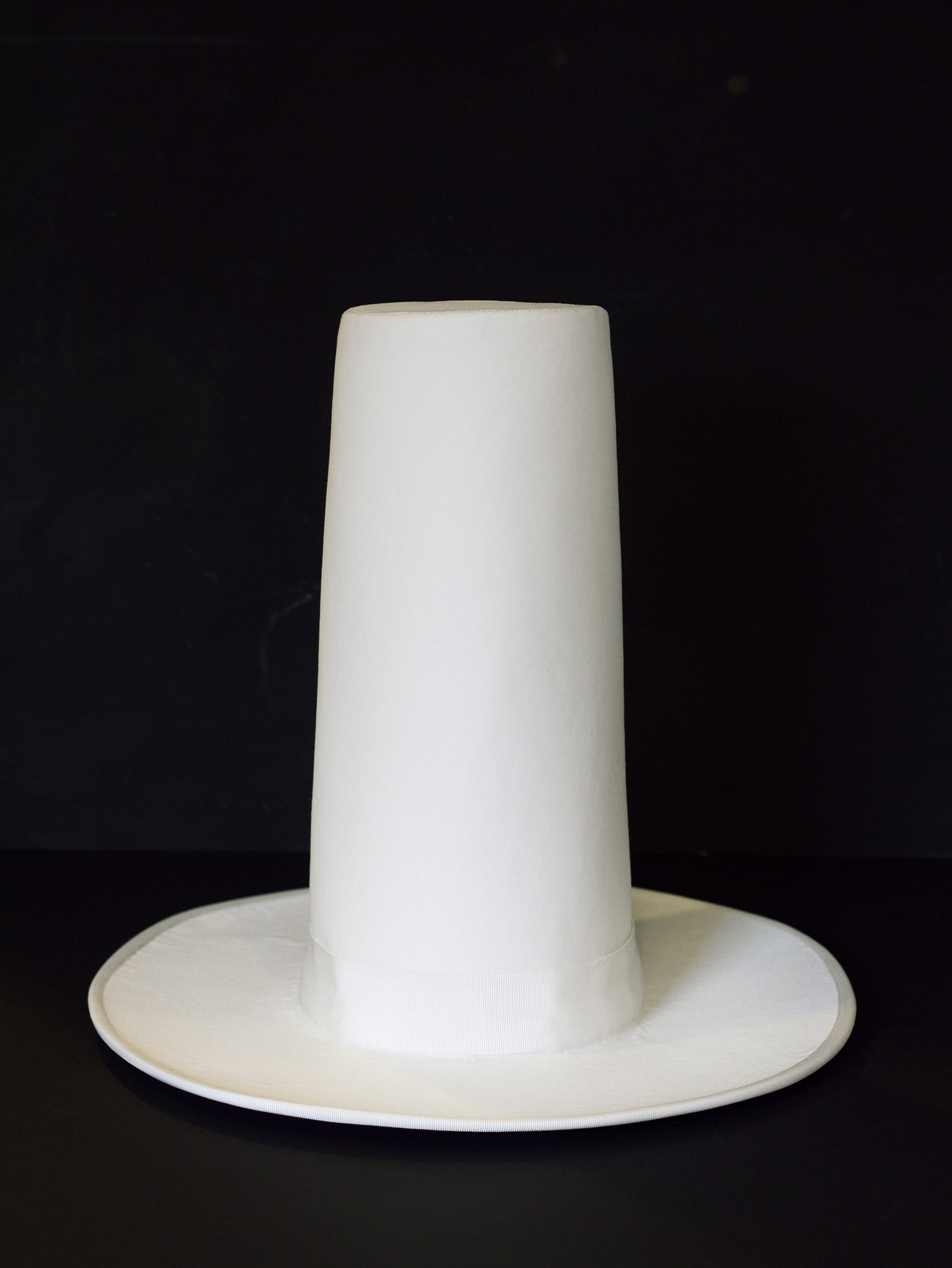 Hatt, sculpture, 2012, h 35 cm (made by hat maker Sara Wikholm/Hats&Art by Sane Hatter)