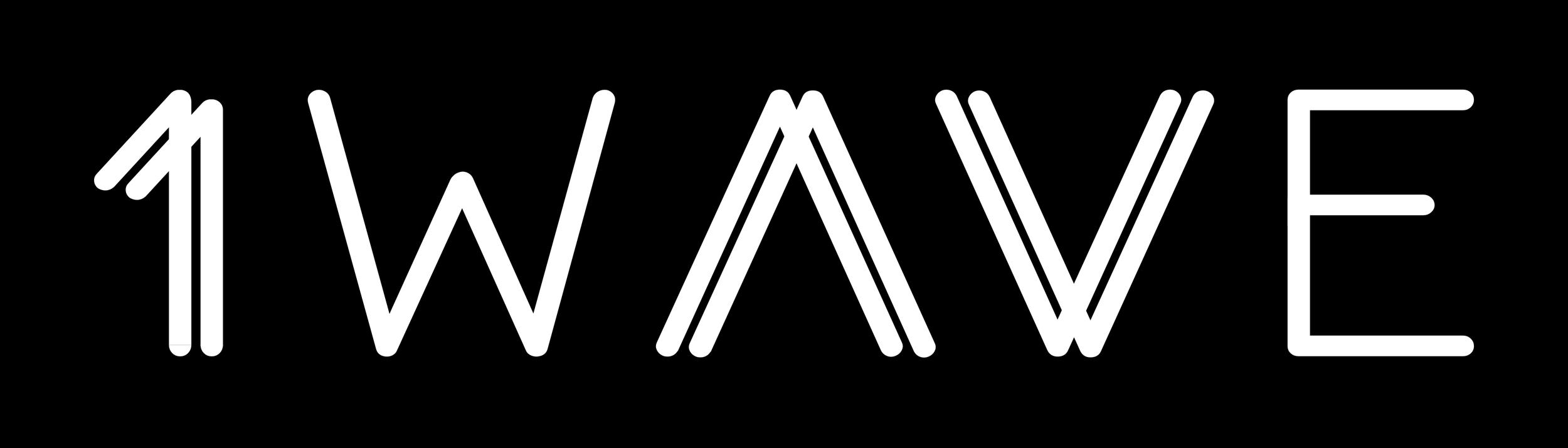 1WAVE Logo W:B.png