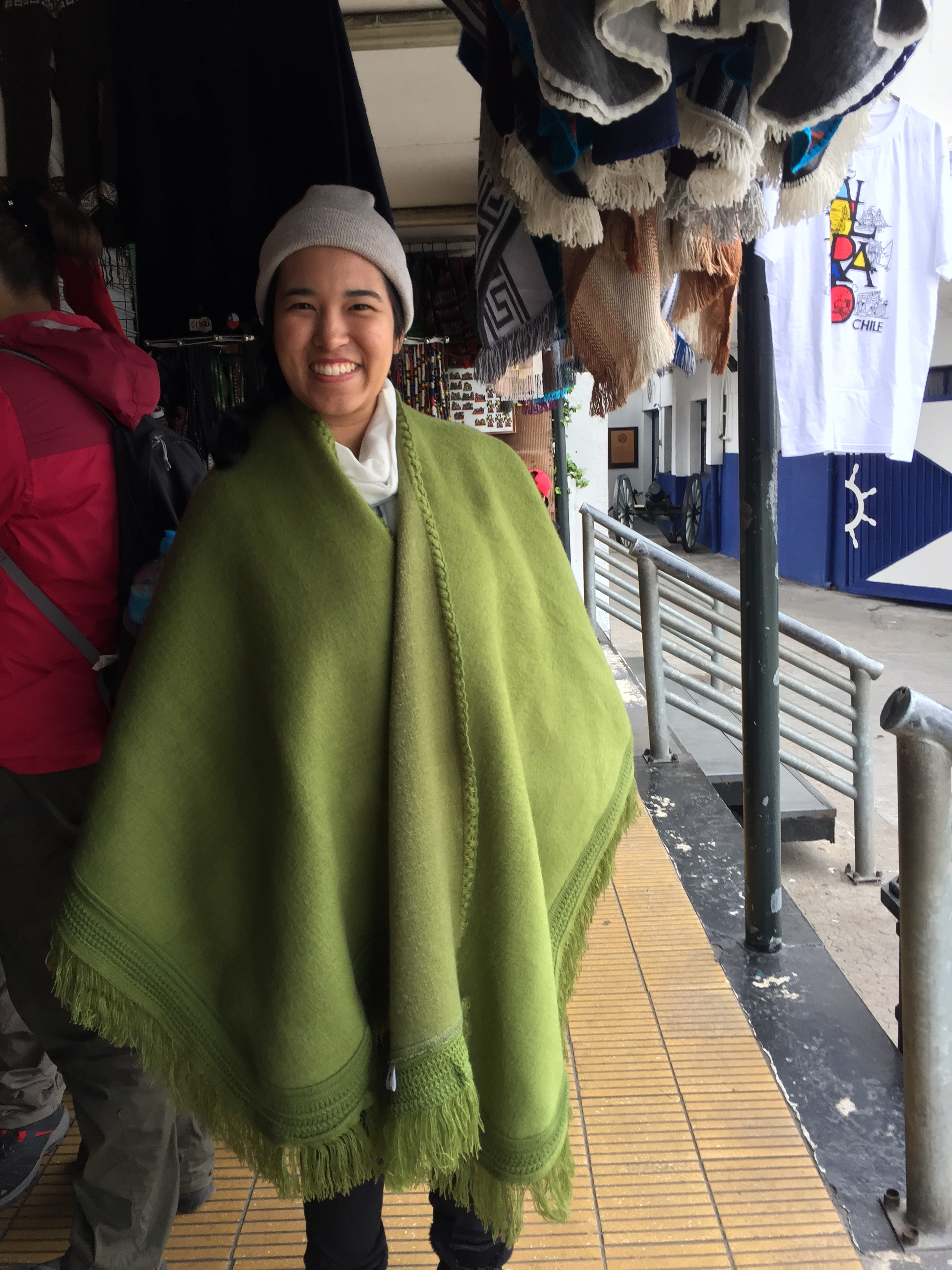 Topping the list of my regrets on this trip is not buying this poncho!