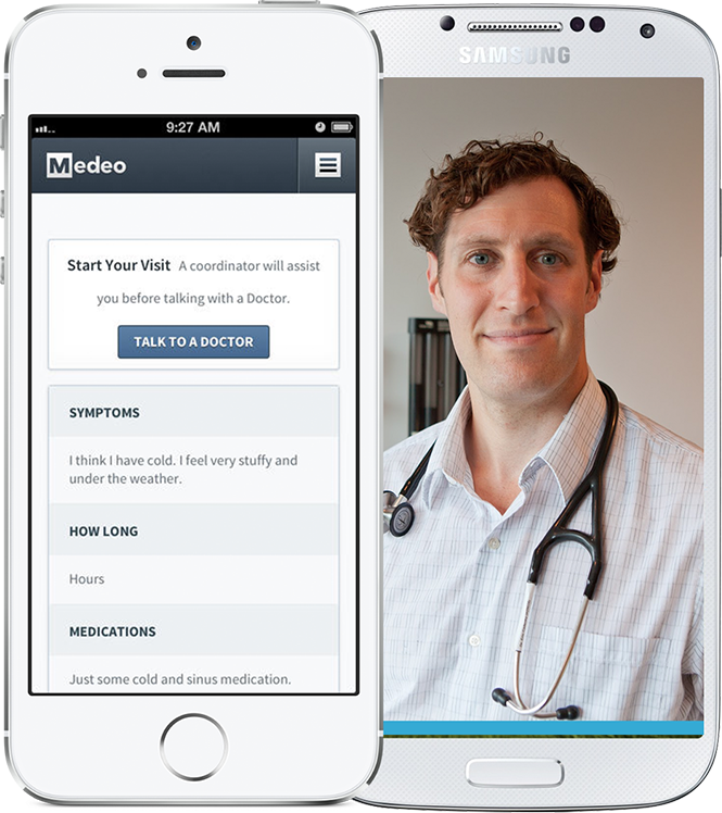 Medeo Health – App for iOS and Android