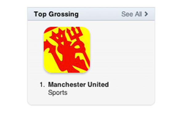 MH Top Grossing App in the App Store