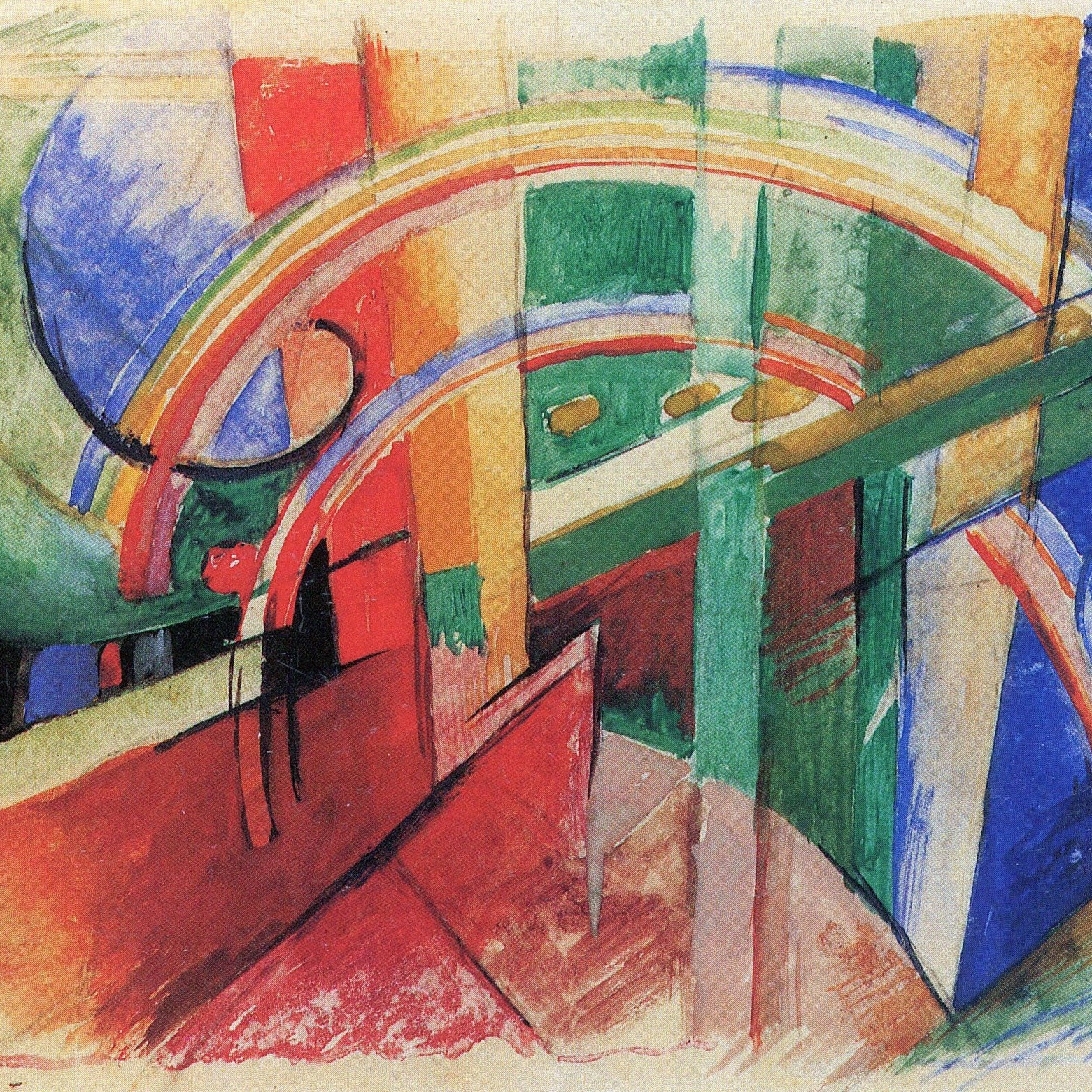 IMAGE CREDIT: Blue Horse with Rainbow , by Franz Marc (1913) [ https://www.moma.org/s/ge/collection_ge/artist/artist_id-3748_role-1_sov_page-16.html ] Licensed under CC0.