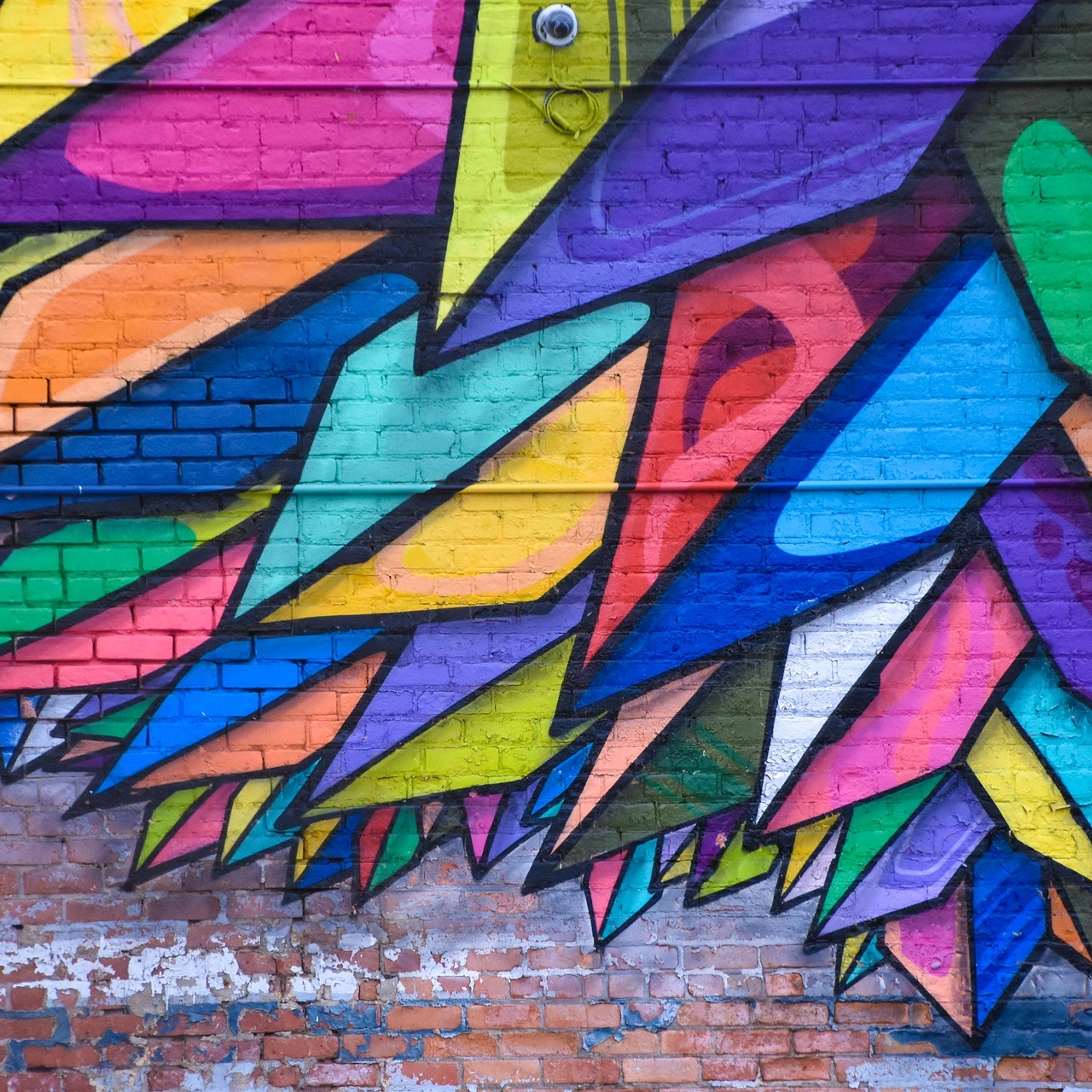 IMAGE CREDIT:  Wall Mural,  by SnapStock, Licenced under CC0. [ https://pixabay.com/en/wall-art-mural-colorful-painting-2583885/ ]