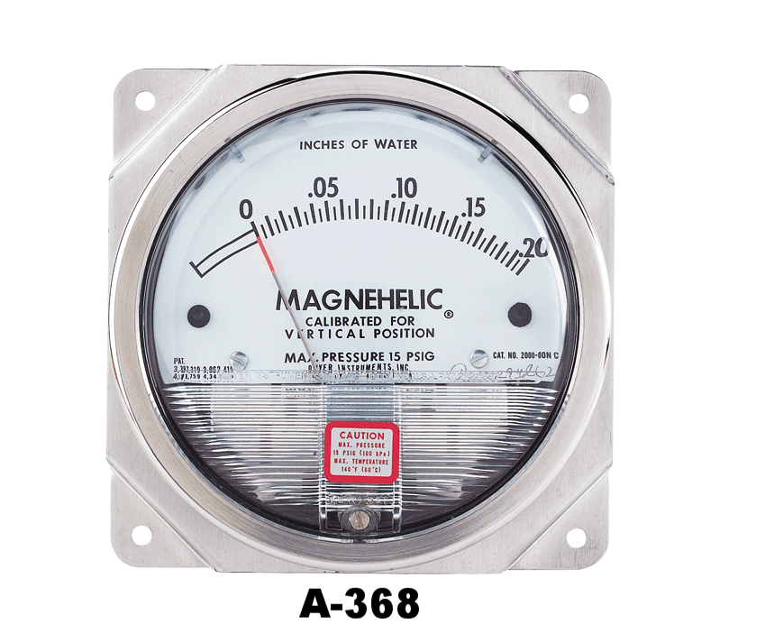 A-368 MAGNEHELIC