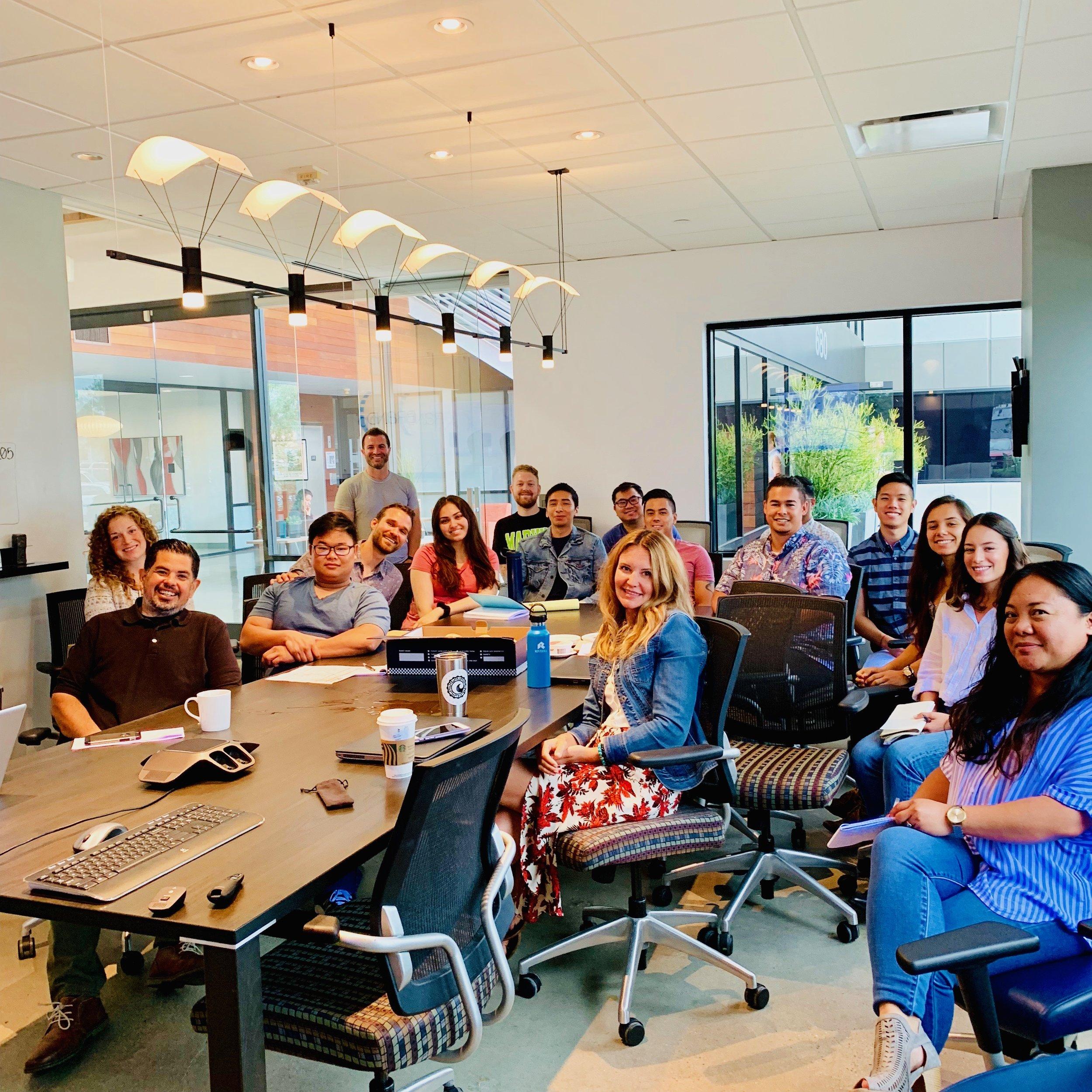Internal Team @ our Q2 All-Hands Meeting