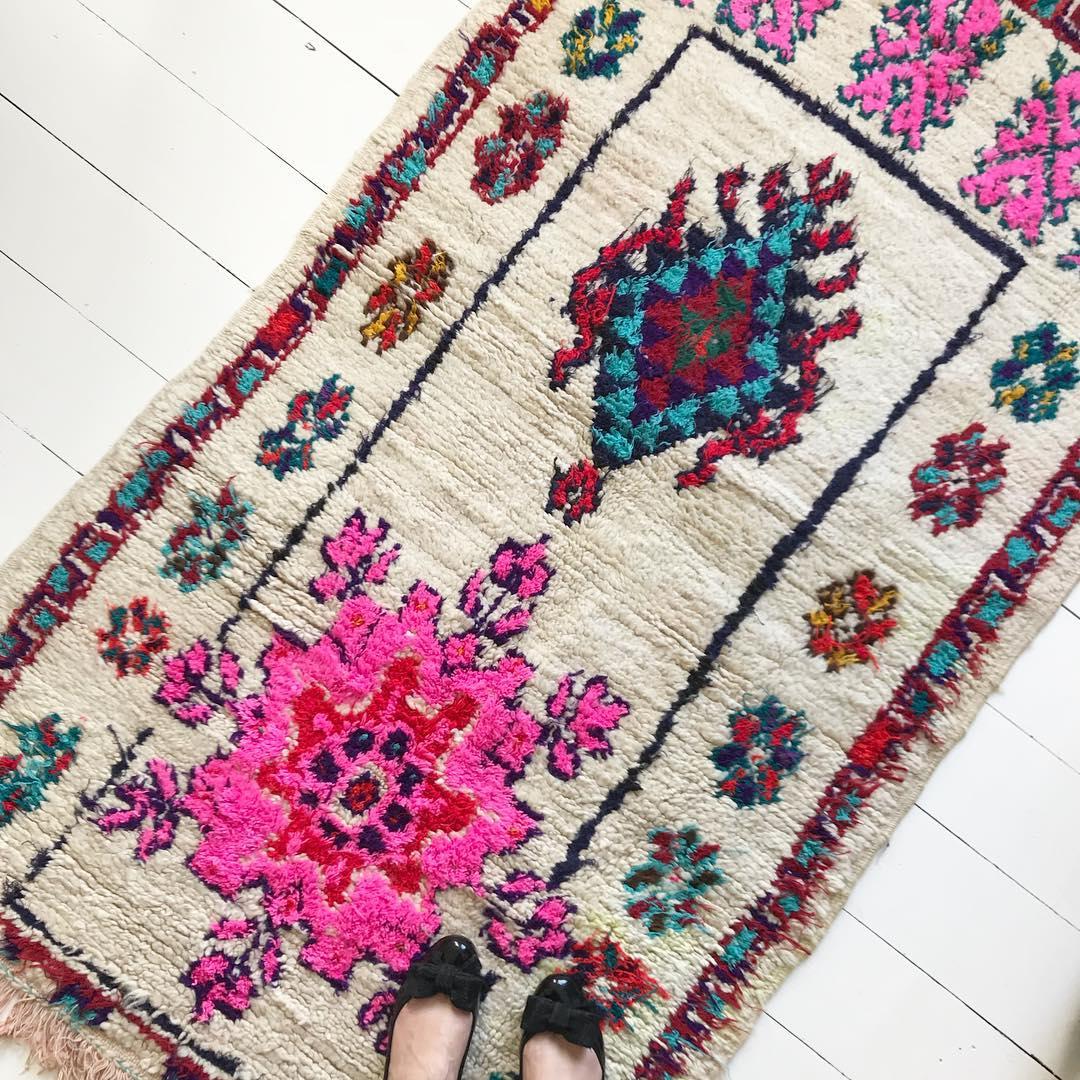 Vintage rug sourced by edit58
